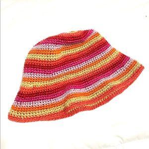 Vintage Striped Bucket Hat